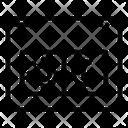 Dark Mode Website Webpage Icon