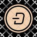 Darknet Darkcoin Crypto Icon