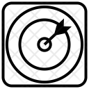 Dart Dartboard Targeting Icon