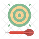 Dart Sport Competition Icon
