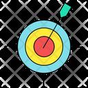 Dart Game Target Icon