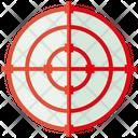 Dart Target Crosshair Icon