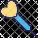 Dart Heart Love Icon