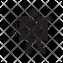 Dart Arrow Target Icon