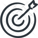 Dart Board Bullseye Icon