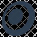 Bullseye Dart Target Icon