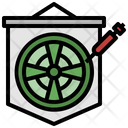 Darts Dart Board Objective Icon