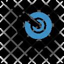 Dartboard Target Success Icon