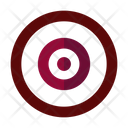 Darts Target Bullseye Icon