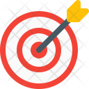 Dartboard Archery Board Icon