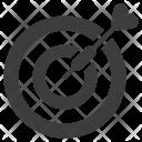 Dartboard Bulls Eye Icon