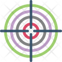 Bullseye Business Goal Dartboard Icon