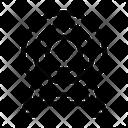 Dartboard Game Circus Icon