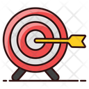 Lawn Dart Dartboard Bullseye Icon