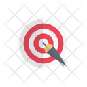 Dartboard Game Target Icon