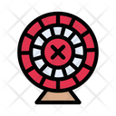 Dartboard Gambling Casino Icon
