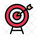 Dartboard Target Magic Icon