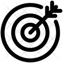 Dartboard Dart Goal Icon