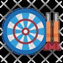 Darts Dartboard Archery Icon