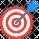 Dartboard Bow Target Icon