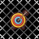 Target Dartboard Game Icon