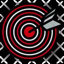 Dartboard Target Arrow Icon