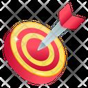 Target Board Dartboard Dart Icon