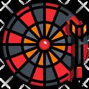 Darts Dart Board Dart Arrow Icon