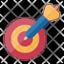 Target Object Dart Board Icon