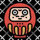 Daruma Japan Cultures Icon