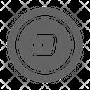 Dash Cryptocurrency Blockchain Icon