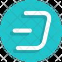 Dash Sign Icon