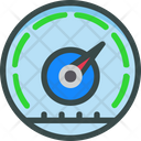 Seo Dashboard Gauge Icon