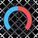 Dashboard Meter Smart Icon