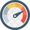 Dashboard Speedometer Odometer Icon