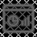 Dashboard Graph Programming Icon