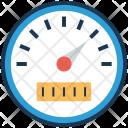 Dashboard Performance Speedometer Icon