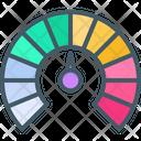 Dashboard Speed Chart Icon