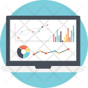 Dashboard Web Analysis Icon