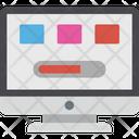 Dashboard Speed Optimization Web Performance Icon