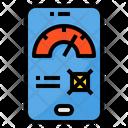 Dashboard Smartphone Speed Icon