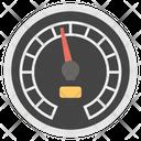 Data Speedometer Data Velocity Speed Analysis Icon