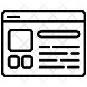 Dashboard Website Web Icon