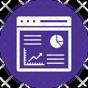 Dashboard Data Analysis Data Analytics Icon
