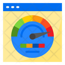 Dashboard Management Report Icon
