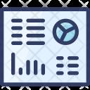 Dashboard Report Analytics Icon