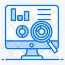 Dashboard Report Performance Data Reporting Icon