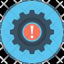 Dashboard Warning Icon