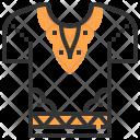 Dashiki Men Shirt Icon