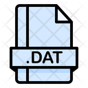 Dat File File Extension Icon